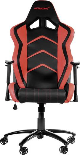 gaming stuhl akracing player gaming chair schwarz rot schwarz rot kaufen. Black Bedroom Furniture Sets. Home Design Ideas