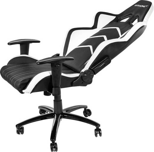 gaming stuhl akracing player gaming chair schwarz wei schwarz wei kaufen. Black Bedroom Furniture Sets. Home Design Ideas