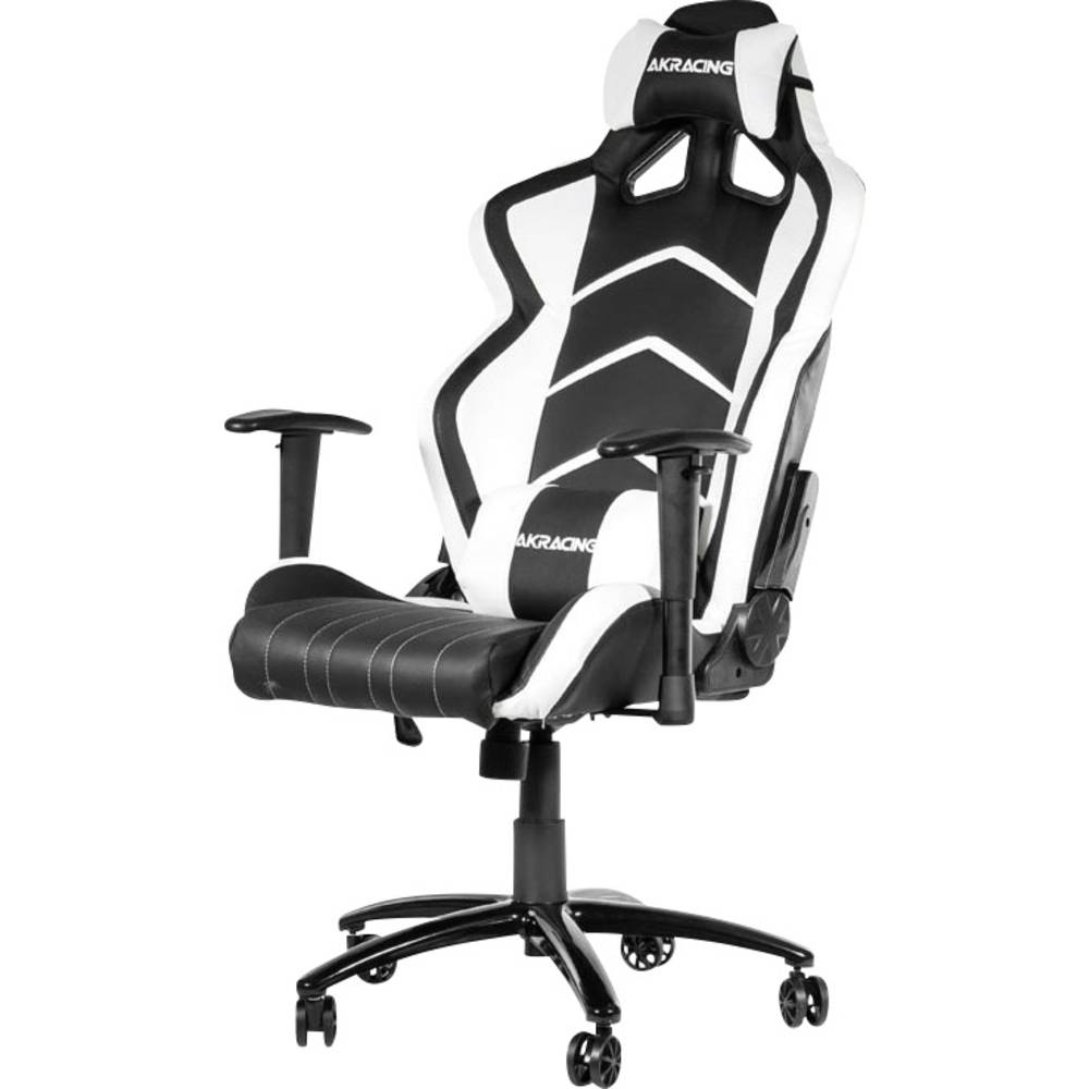 gaming stuhl akracing player gaming chair schwarz wei schwarz wei im conrad online shop 1307662. Black Bedroom Furniture Sets. Home Design Ideas