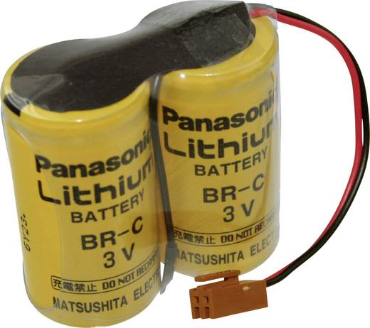 Panasonic Lithiumpack BR-CCF2TH Spezial-Batterie BR-C Stecker Lithium 6 V 5000 mAh 1 St.