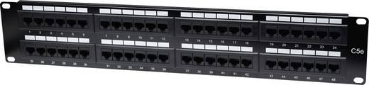 48 Port Netzwerk-Patchpanel Intellinet 513579 CAT 3, CAT 4, CAT 5, CAT 5e 2 HE