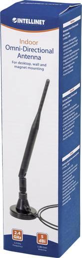 WLAN Stab-Antenne 5 dB 2.4 GHz Intellinet Omnidirektionale Indoor Antenne, 2.4GHz, 5 dBi