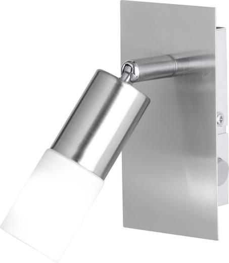 Wandstrahler E14 3 W LED ACTION Alvis 438801640000 Nickel (matt)