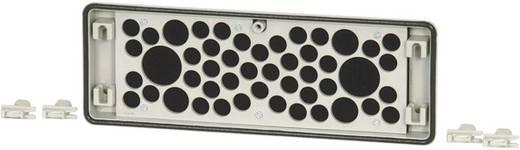 Flanschplatte mit Kabeleinführung (L x B x H) 23 x 329 x 116 mm Grau Eaton FL4-D 1 St.