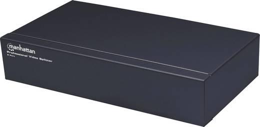 8 Port SVGA-Splitter Manhattan 207355 Metallgehäuse 1920 x 1440 Pixel Schwarz