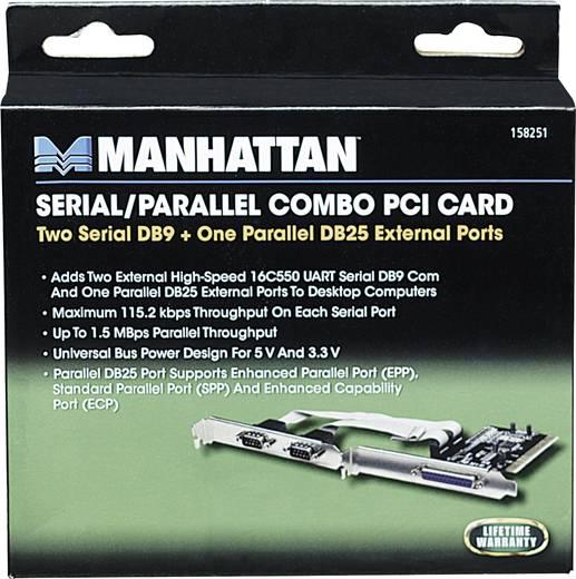 3 Port Serielle/Parallele Steckkarte PCI Manhattan