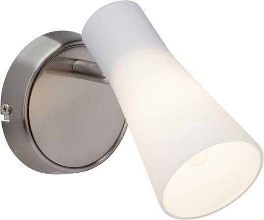 Wandstrahler E14 28 W Halogen, LED Brilliant Furore 65010/77 Chrom, Weiß