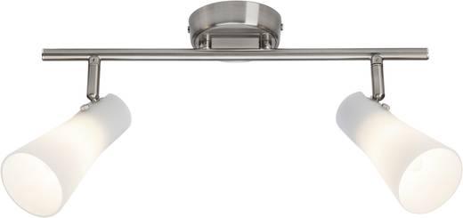 Deckenstrahler Halogen, LED E14 56 W Brilliant Furore 65013/77 Chrom, Weiß