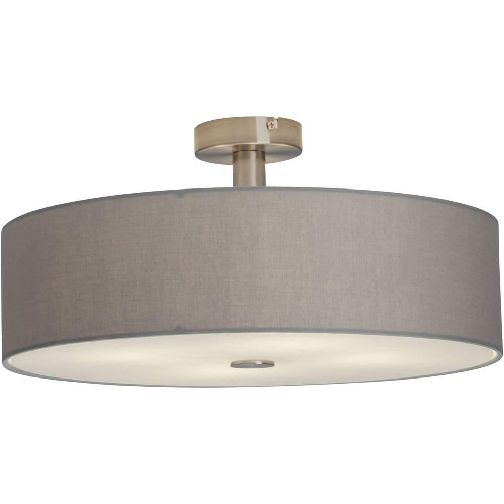 Deckenleuchte Halogen, LED E27 168 W Brilliant Gentle 93509/22 Grau ...