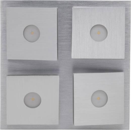 LED-Deckenleuchte 22 W Warm-Weiß Brilliant Exact G65235/21 Aluminium