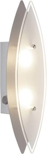 LED-Wandleuchte 6 W Warm-Weiß Brilliant ovalna G94327/13 Chrom