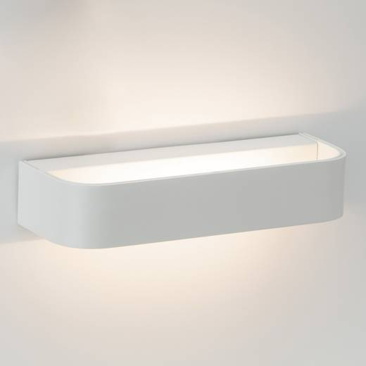 LED-Wandleuchte 6 W Warm-Weiß Brilliant Free G94338/05 Weiß