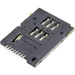 Image of Attend SIM Kartensockel Anzahl Kontakte: 6 + 2 Druck, Druck 115A-ADA0-R02 1 St.