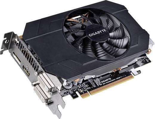 Grafikkarte Gigabyte Nvidia GeForce GTX960 2 GB GDDR5-RAM DVI, HDMI™, DisplayPort