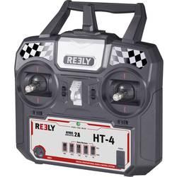 Ručné diaľkové ovládanie Reely HT-4, 2,4 GHz, Kanálov 4, vr. prijímača