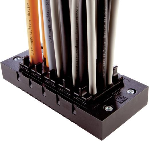 Kabeleinführungsrahmen Klemm-Ø (max.) 9 mm Polyamid Schwarz LappKabel SKINTOP CUBE MULTI V2 1 St.
