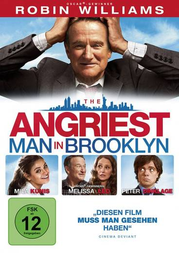 DVD The Angriest Man in Brooklyn FSK: 12
