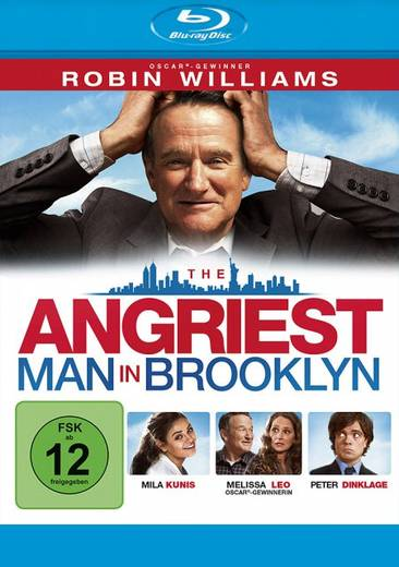 blu-ray The Angriest Man in Brooklyn FSK: 12
