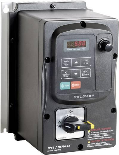 Frequenzumrichter Peter Electronic 0.75 kW 1phasig 230 V