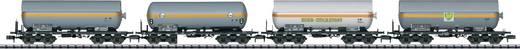 MiniTrix T15415 N 4er-Set Kesselwagen Druckgas der DB