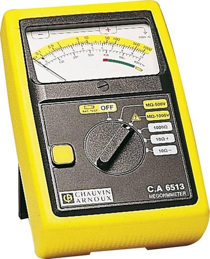 Isolationsmessgerät Chauvin Arnoux C.A 6513 500 V, 1000 V 1 GΩ Kalibriert nach ISO