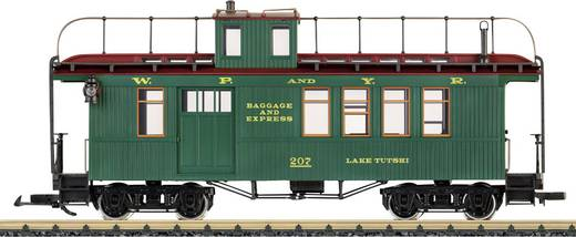 LGB L40756 G Drovers Caboose White Pass