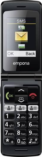 emporia flipbasic senioren handy mit ladestation sos taste schwarz kaufen. Black Bedroom Furniture Sets. Home Design Ideas