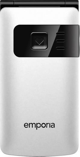 Emporia FlipBasic Senioren-Klapp-Handy Weiß