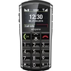 Emporia Pure telefón pre seniorov nabíjacej stanice, tlačidlo SOS čierna