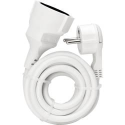 Napájací predlžovací kábel Kopp 143602080, IP20, biela, 3 m