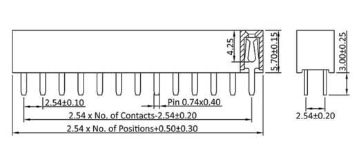 Buchsenleiste (Standard) Anzahl Reihen: 2 Polzahl je Reihe: 5 econ connect BL5/2G5 1 St.