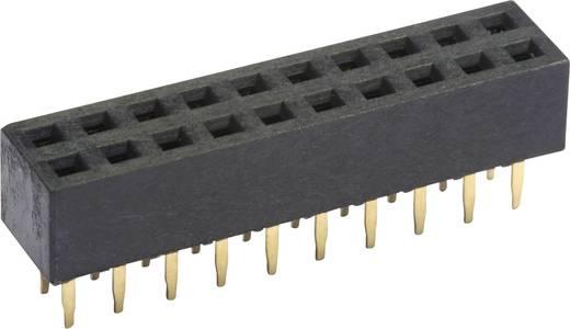 Buchsenleiste (Standard) Anzahl Reihen: 2 Polzahl je Reihe: 10 econ connect FHS43D20G 1 St.
