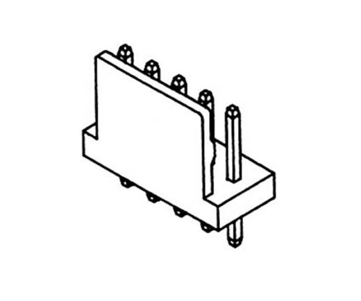 Stiftleiste (Standard) Polzahl Gesamt 4 econ connect PSL4G Rastermaß: 2.54 mm 1 St.