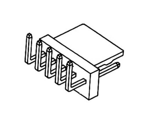 Stiftleiste (Standard) Polzahl Gesamt 5 econ connect PSL5W Rastermaß: 2.54 mm 1 St.