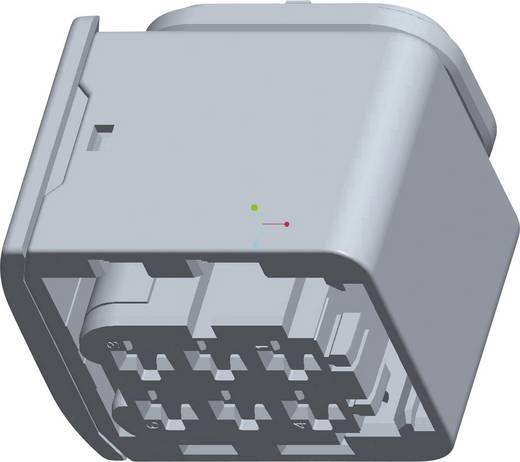 Buchsengehäuse-Kabel HDSCS, MCP Polzahl Gesamt 6 TE Connectivity 1-1418437-1 1 St.