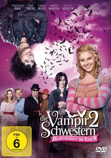 DVD Die Vampirschwestern 2 Fledermäuse im Bauch FSK: 6