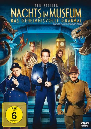 DVD Nachts im Museum Das geheimnisvolle Grabmal FSK: 6
