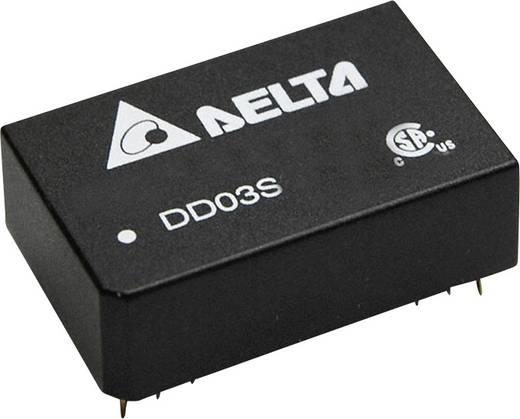 Delta Electronics DD03S2405A DC/DC-Wandler, Print 5 V/DC 600 mA 3 W Anzahl Ausgänge: 1 x