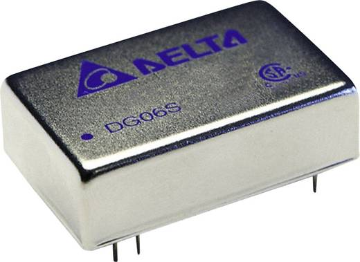 Delta Electronics DG06D2412A DC/DC-Wandler, Print 12 V/DC, -12 V/DC 250 mA 6 W Anzahl Ausgänge: 2 x