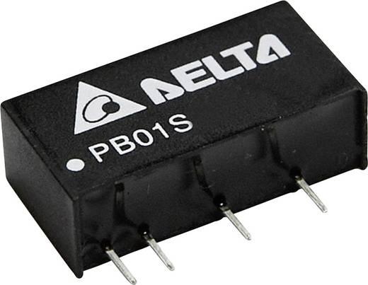DC/DC-Wandler, Print Delta Electronics PB01D0505A 5 V/DC, -5 V/DC 100 mA 1 W Anzahl Ausgänge: 2 x