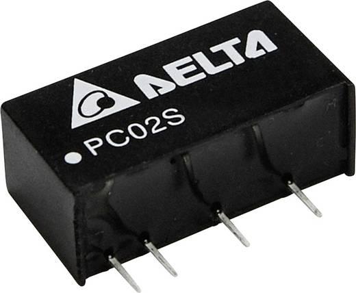 Delta Electronics PC02S1205A DC/DC-Wandler, Print 5 V/DC 400 mA 2 W Anzahl Ausgänge: 1 x
