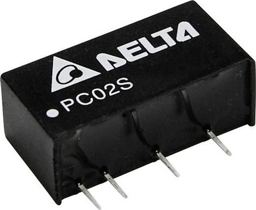 Delta Electronics PC02S2403A DC/DC-Wandler, Print 3.3 V/DC 500 mA 2 W Anzahl Ausgänge: 1 x