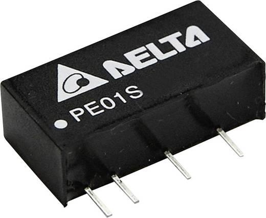 DC/DC-Wandler, Print Delta Electronics PE01S1215A 15 V/DC 67 mA 1 W Anzahl Ausgänge: 1 x