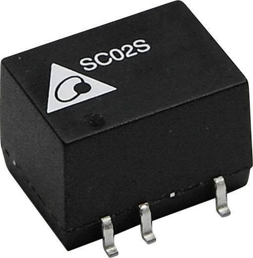 DC/DC-Wandler, SMD Delta Electronics SC02S2405A 5 V/DC 400 mA 2 W Anzahl Ausgänge: 1 x