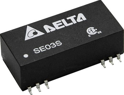 DC/DC-Wandler, SMD Delta Electronics SE03D1215A 15 V/DC, -15 V/DC 100 mA 3 W Anzahl Ausgänge: 2 x