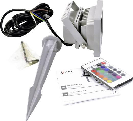 X4-LIFE LED-Außenstrahler 701455 Schutzart IP65 Grau IP65 LED fest eingebaut
