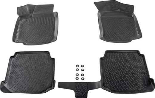Fußmatte (fahrzeugspezifisch) Skoda Octavia TPE (Geruchneutrales Spezialgummigemisch) Schwarz DINO 136064