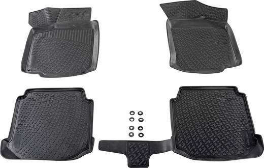 Fußmatte (fahrzeugspezifisch) Kia Ceed TPE (Geruchneutrales Spezialgummigemisch) Schwarz DINO 136036