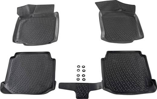 Fußmatte (fahrzeugspezifisch) Lexus GS 4 TPE (Geruchneutrales Spezialgummigemisch) Schwarz DINO 136042