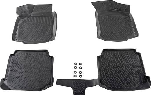 Fußmatte (fahrzeugspezifisch) Volvo XC60 TPE (Geruchneutrales Spezialgummigemisch) Schwarz DINO 136085